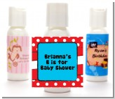 Dr. Seuss Inspired - Personalized Baby Shower Lotion Favors