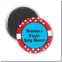 Dr. Seuss Inspired - Personalized Baby Shower Magnet Favors