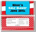 Dr. Seuss Inspired - Personalized Baby Shower Candy Bar Wrappers thumbnail