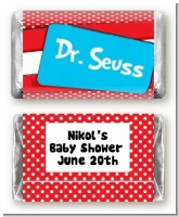 Dr. Seuss Inspired - Personalized Baby Shower Mini Candy Bar Wrappers