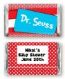 Dr. Seuss Inspired - Personalized Baby Shower Mini Candy Bar Wrappers thumbnail