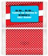 Dr. Seuss Inspired - Personalized Popcorn Wrapper Baby Shower Favors thumbnail