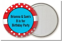 Dr. Seuss Inspired Thing 1 Thing 2 - Personalized Birthday Party Pocket Mirror Favors