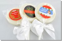 Christmas Lollipop Favors