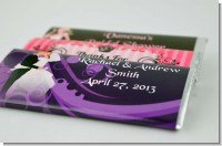 Bridal Shower  Wedding Candy Bar Wrappers