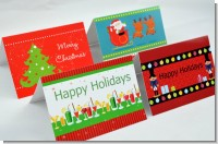 Christmas Baby Thank You Cards
