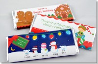 Christmas Baby Shower Candy Bar Wrappers