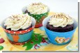 Christmas Baby Shower Cupcake Wrappers thumbnail
