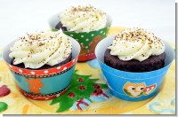 Christmas Baby Shower Cupcake Wrappers