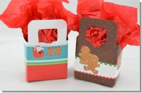 Christmas Baby Shower Favor Boxes