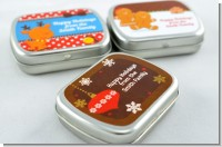 Christmas Baby Shower Mint Tins