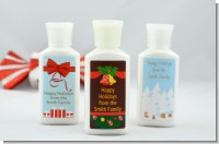 Christmas Lotion Favors