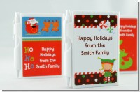 Custom Christmas Notebook Favors