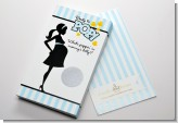 Ready To Pop Blue - Baby Shower Scratch Off Game Tickets