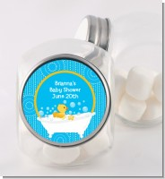 Duck - Personalized Baby Shower Candy Jar