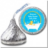 Duck - Hershey Kiss Baby Shower Sticker Labels