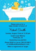 Duck - Baby Shower Invitations