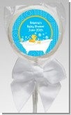 Duck - Personalized Baby Shower Lollipop Favors
