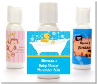 Duck - Personalized Baby Shower Lotion Favors