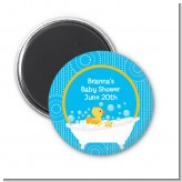 Duck - Personalized Baby Shower Magnet Favors