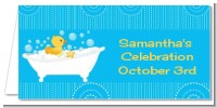 Duck - Personalized Baby Shower Place Cards