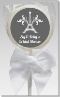 Eiffel Tower - Personalized Bridal Shower Lollipop Favors