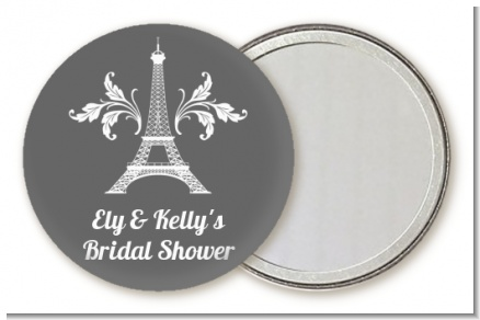 Eiffel Tower - Personalized Bridal Shower Pocket Mirror Favors