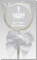 Elegant Chandelier - Personalized Bridal Shower Lollipop Favors