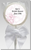Elegant Flowers - Personalized Bridal Shower Lollipop Favors
