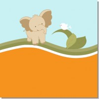Elephant Baby Neutral Baby Shower Theme