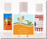 Elephant Baby Neutral - Personalized Baby Shower Hand Sanitizers Favors