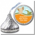 Elephant Baby Neutral - Hershey Kiss Baby Shower Sticker Labels thumbnail