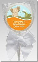 Elephant Baby Neutral - Personalized Baby Shower Lollipop Favors