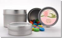 Elephant Baby Pink - Custom Baby Shower Favor Tins