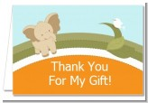 Elephant Baby Neutral - Baby Shower Thank You Cards