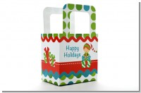 Santa's Little Elf - Personalized Christmas Favor Boxes