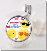 Emoji Fun - Personalized Birthday Party Candy Jar