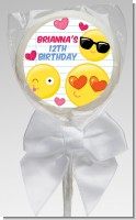Emoji Fun - Personalized Birthday Party Lollipop Favors