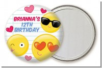 Emoji Fun - Personalized Birthday Party Pocket Mirror Favors