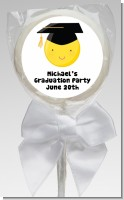 Emoji Graduate - Personalized Graduation Party Lollipop Favors