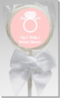 Engagement Ring - Personalized Bridal Shower Lollipop Favors