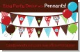 Hot Cocoa Party - Christmas Themed Pennant Set thumbnail