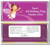 Fairy Princess - Personalized Birthday Party Candy Bar Wrappers