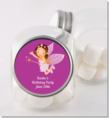 Fairy Princess - Personalized Birthday Party Candy Jar