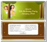 Fairy Princess Friends - Personalized Birthday Party Candy Bar Wrappers