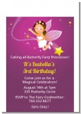 Fairy Princess - Birthday Party Petite Invitations