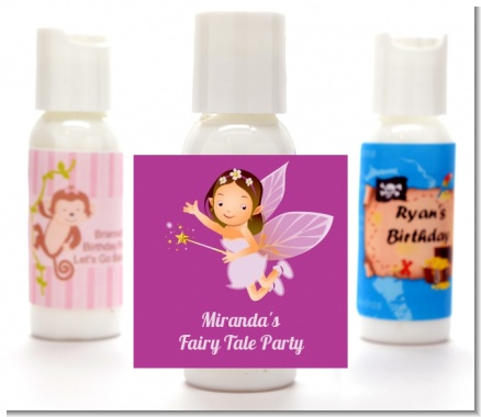 Fairy Princess - Personalized Birthday Party Lotion Favors