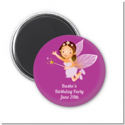 Fairy Princess - Personalized Birthday Party Magnet Favors