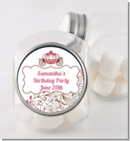 Fairy Tale Princess Carriage - Personalized Birthday Party Candy Jar
