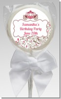 Fairy Tale Princess Carriage - Personalized Birthday Party Lollipop Favors